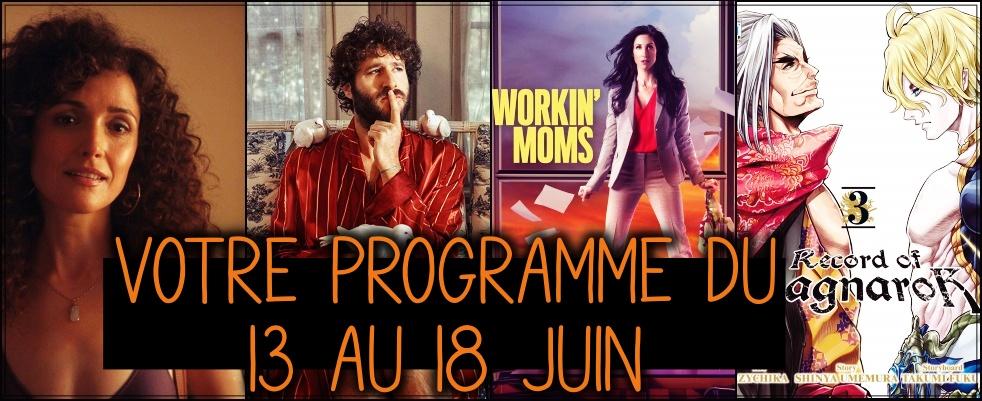 VOTRE PROGRAMME DU 13 au 18 juin
